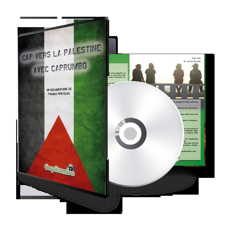 DVD - Cap vers la Palestine avec CapRumbo