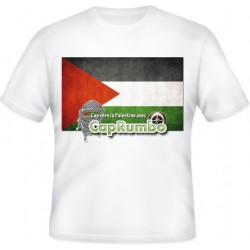 T-shirt Cap vers la Palestine avec CapRumbo