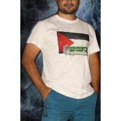 T-shirt Cap vers la Palestine avec CapRumbo - model