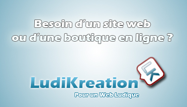 LudiKreation - création de sites web